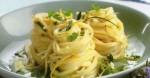 spaghettini con ricotta e limone
